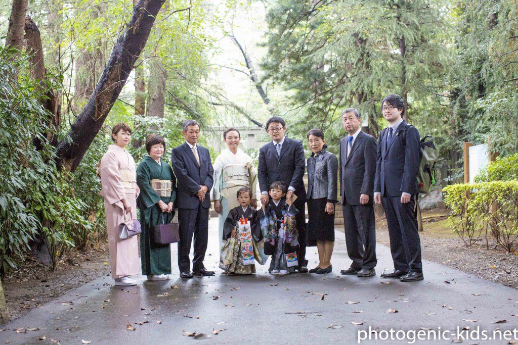 【岩槻 久伊豆神社】七五三出張撮影をさせていただきました。