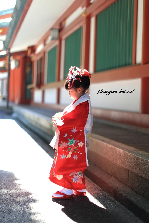【赤坂日枝神社】七五三のお祝い