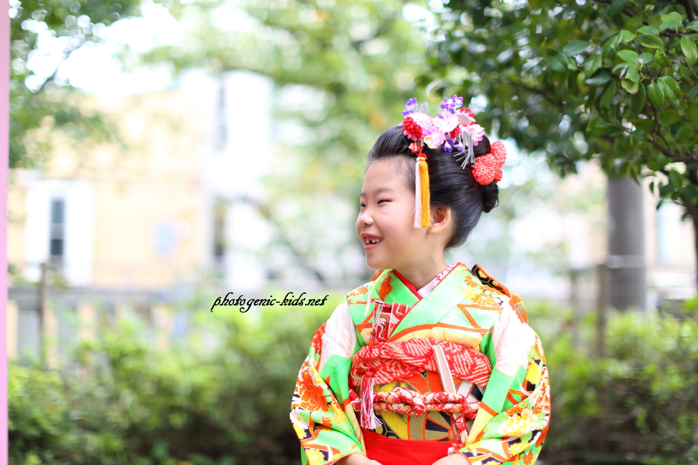 【旗岡八幡神社(東京都品川区)】にて七五三出張撮影をさせていただきました。