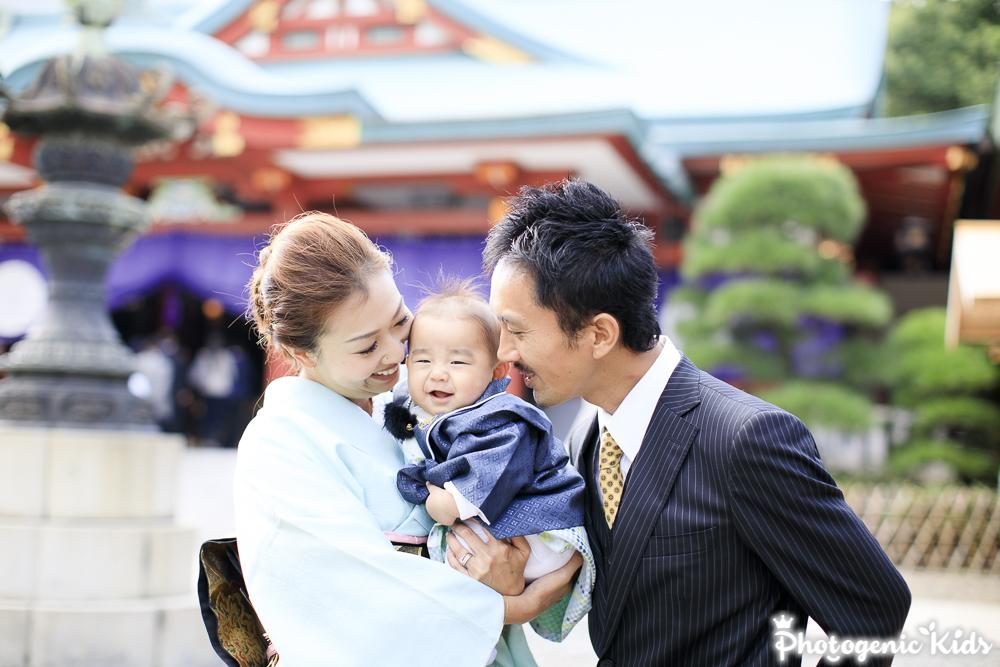 七五三 出張撮影 赤坂 日枝神社
