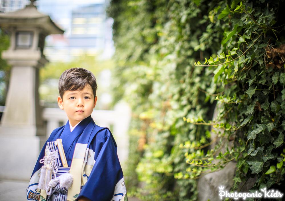 赤坂日枝神社 海外からの一時帰国での七五三のお参り、大成功!