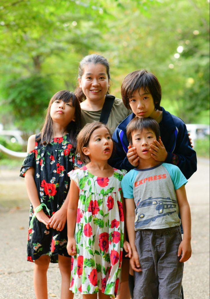 出張カメラマンかわえひろみさんに家族写真を撮っていただきました
