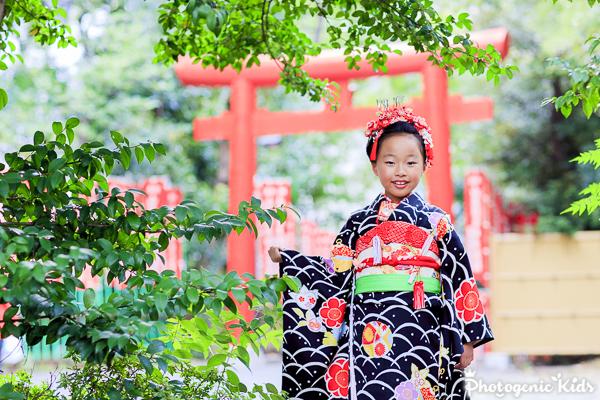日枝神社 七五三出張撮影