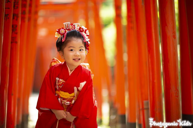 根津神社 七五三出張撮影をさせていただきました。