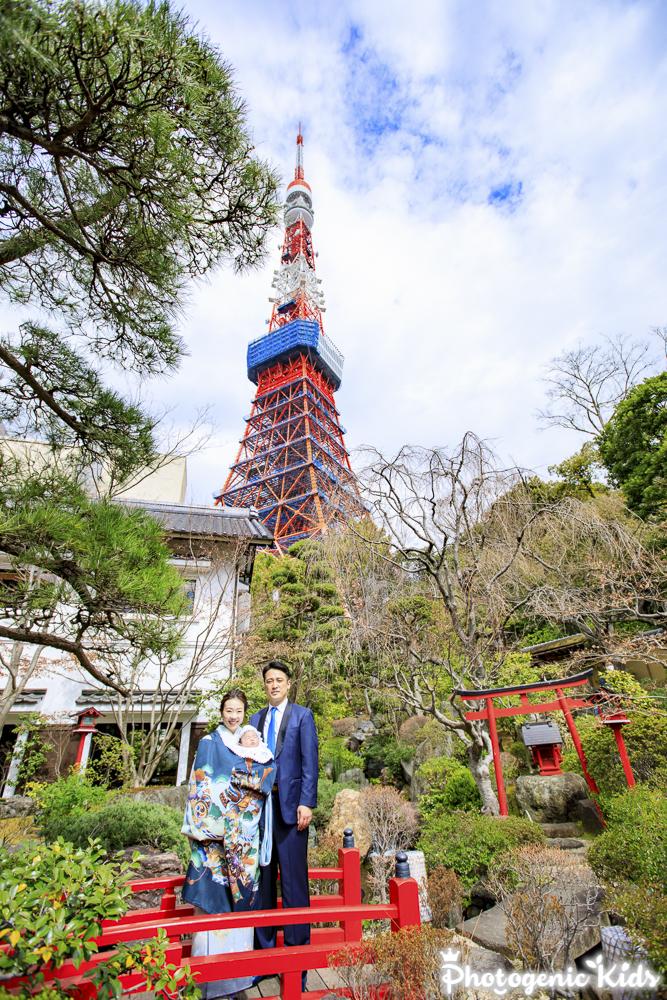 愛宕神社&とうふ屋うかい(港区)にてお宮参り&お食い初めのお祝いに同行させていただきました。