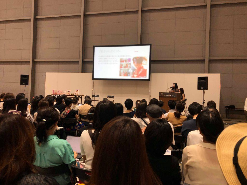 PHOTONEXT(パシフィコ横浜の大展示ホールにて開催。来場者1万人越えのプロ写真業界の最大のイベント)にて講演させていただきました。