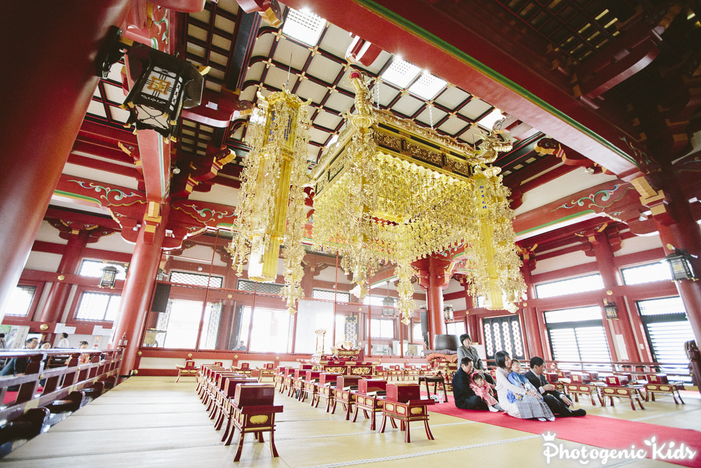 【速報】七五三 昨日は池上本門寺(東京都大田区)に出張撮影させていただきました。