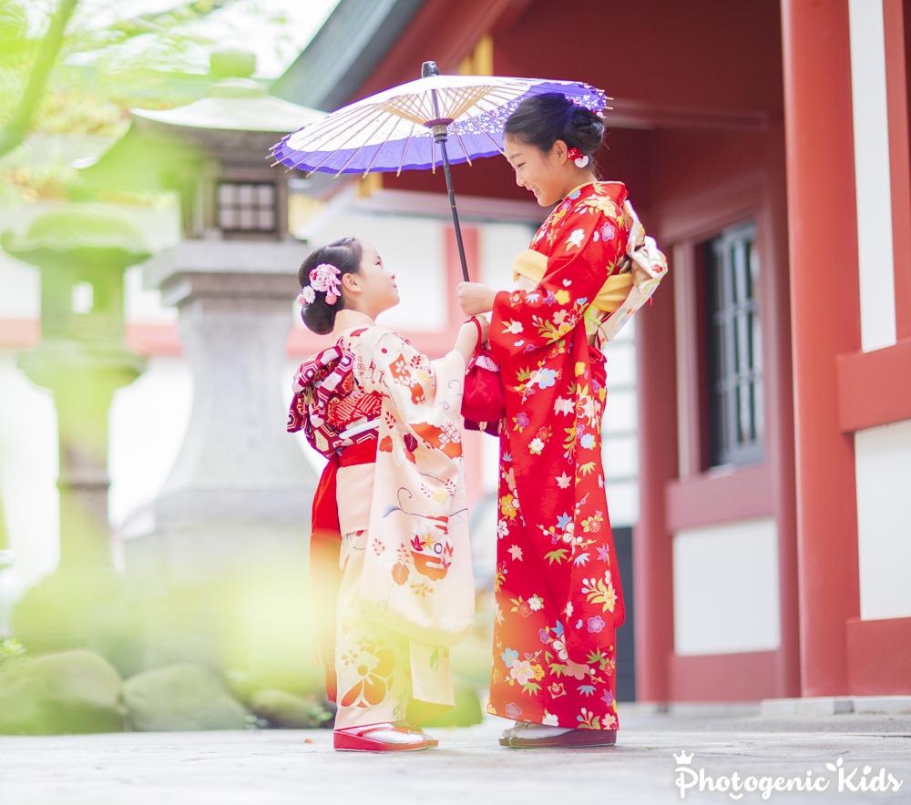【速報】七五三 十三参り 昨日は赤坂日枝神社にて出張撮影させていただきました。