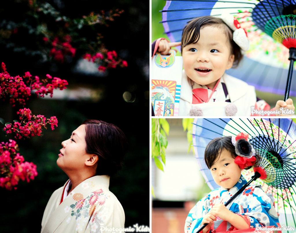 西新井大師の七五三出張撮影②ママを可愛く撮ることもすごく大事にしています。
