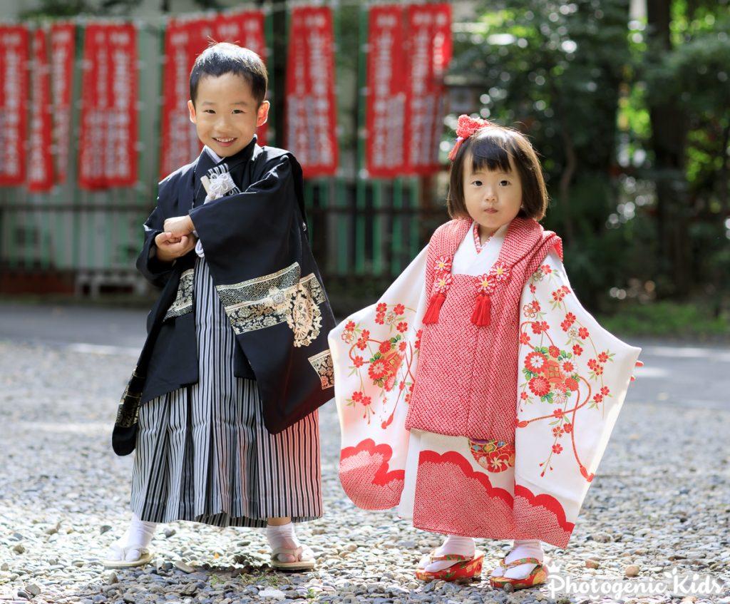 赤坂日枝神社 七五三出張撮影