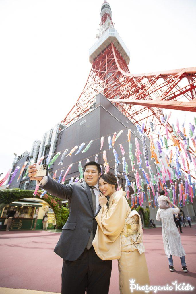 東京タワー 出張撮影
