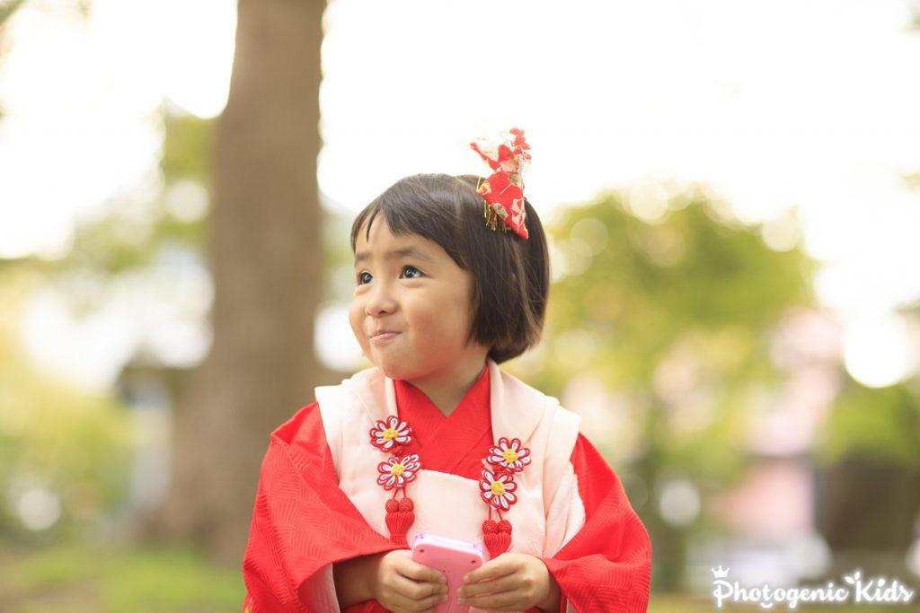 町田 菅原神社に七五三出張撮影&出張動画撮影 ワンちゃんも一緒にお参り