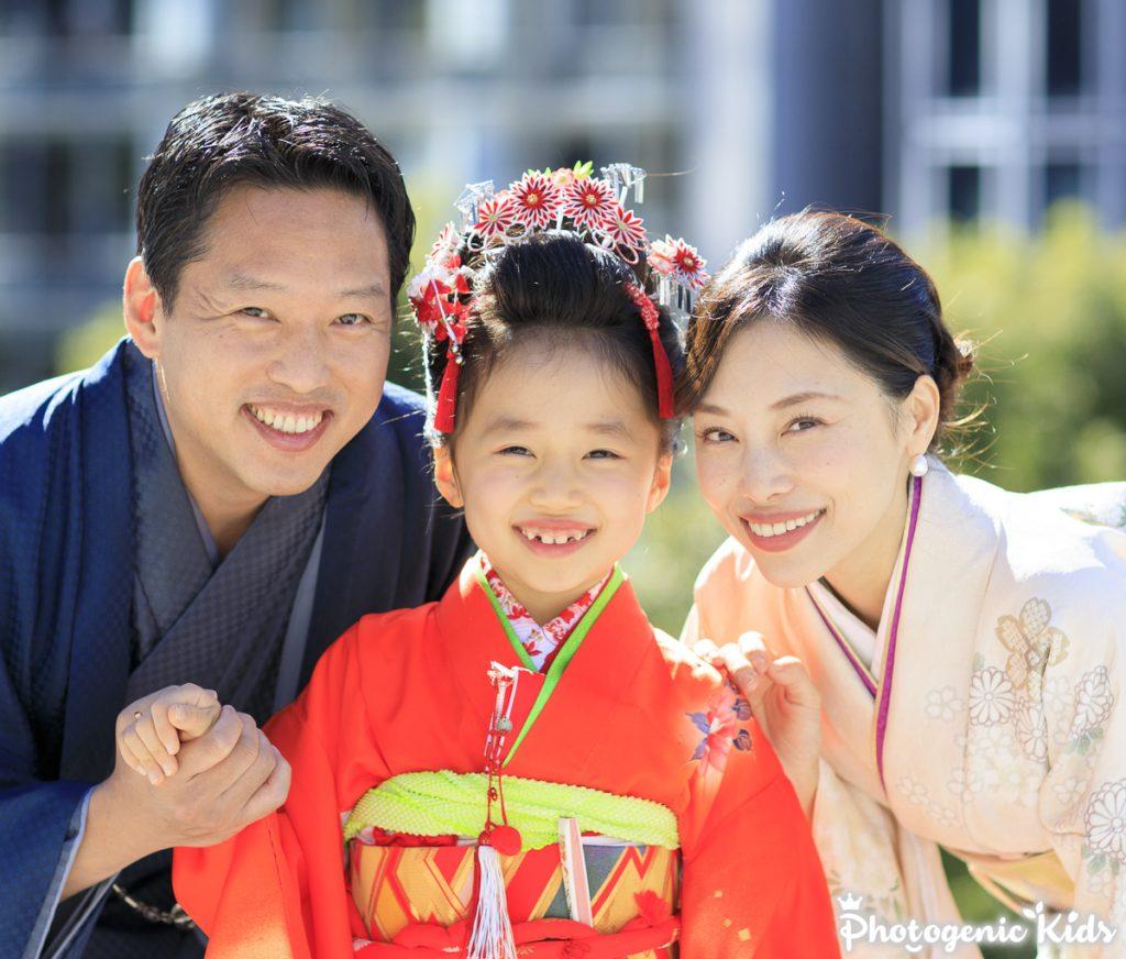 赤坂日枝神社に写真と動画で残す七歳の七五三出張撮影